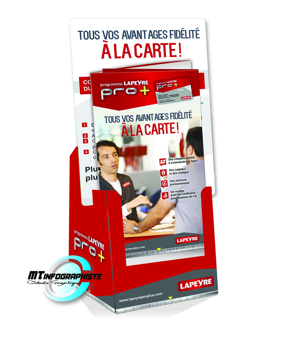 Packaging 3D lapeyre