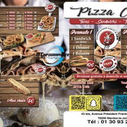 Brochure menue