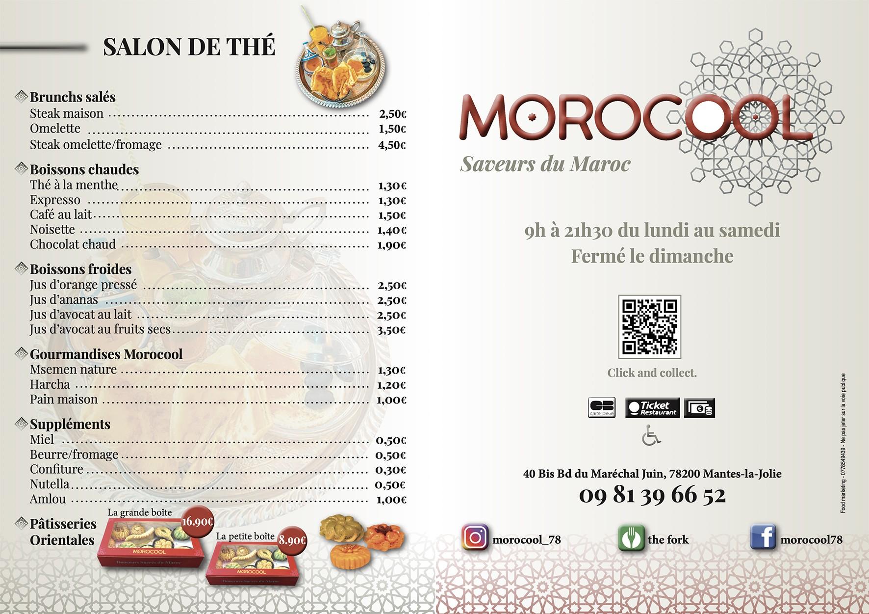 Food Morocool couv