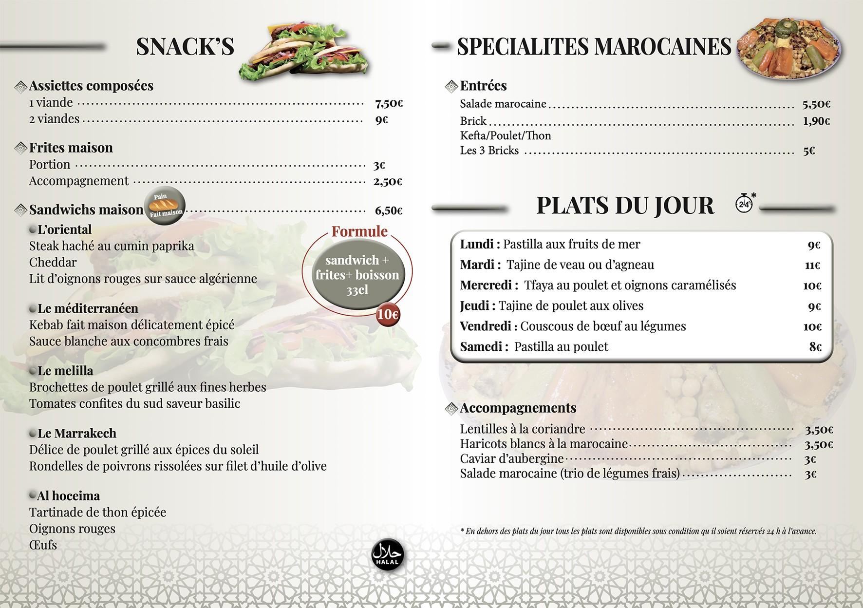 Food Morocool inter