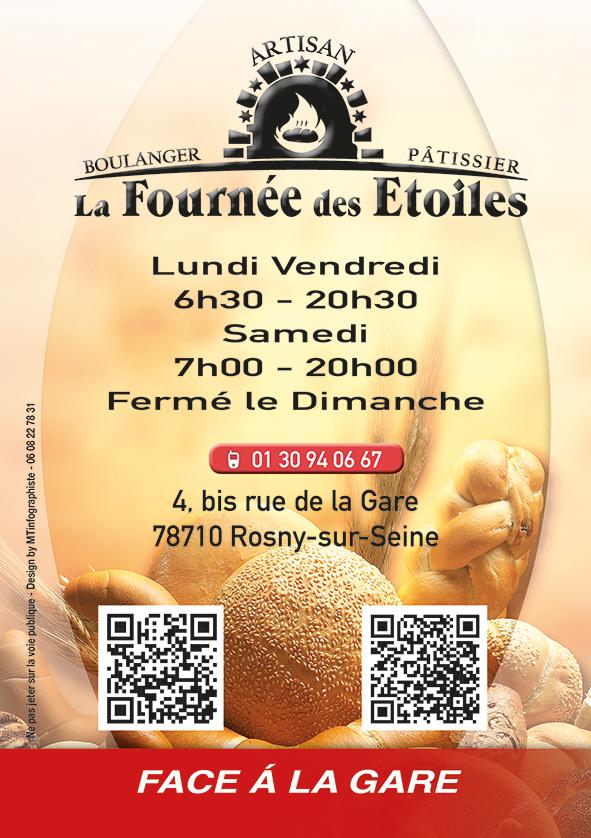 Flyer La Fournée des Etoiles