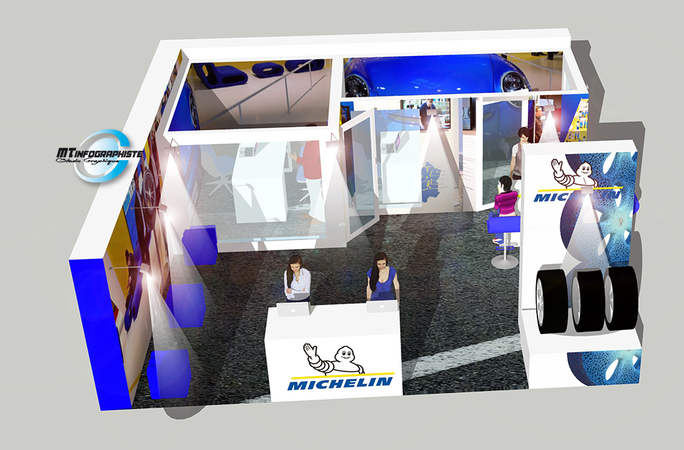 3D Stand Michelin