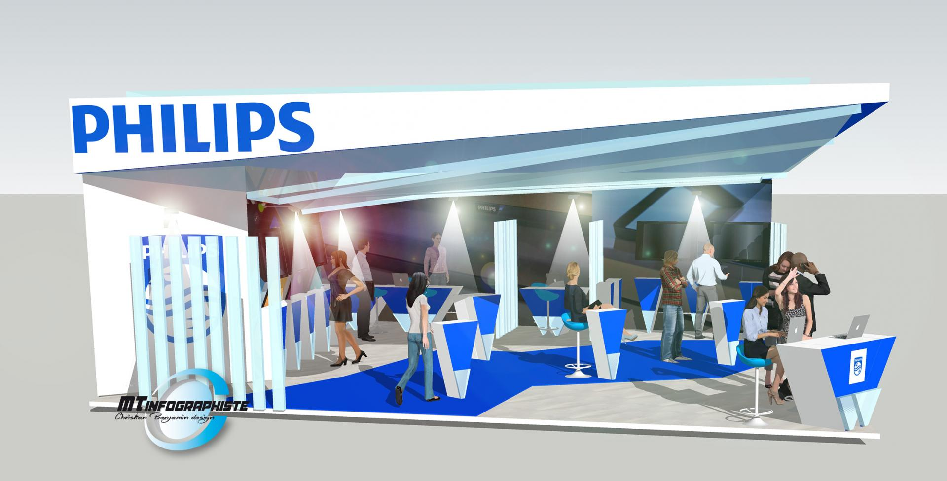 3D Stand Phillips