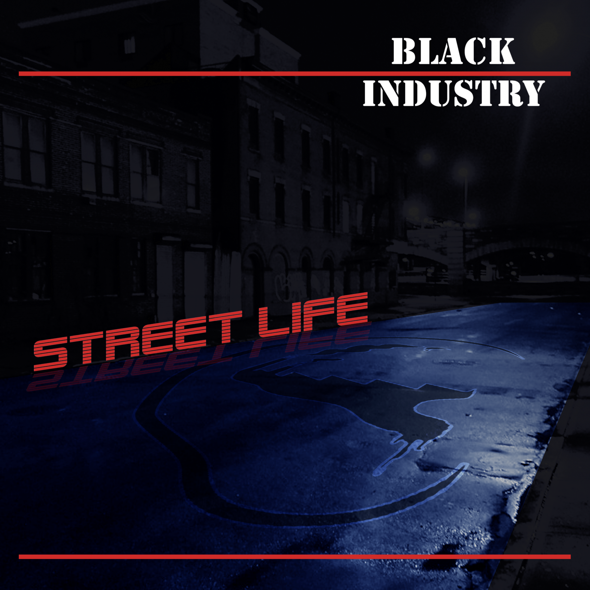 Pochette CD Black industry