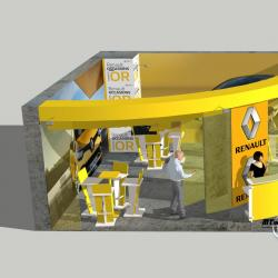 3D Stand Renault