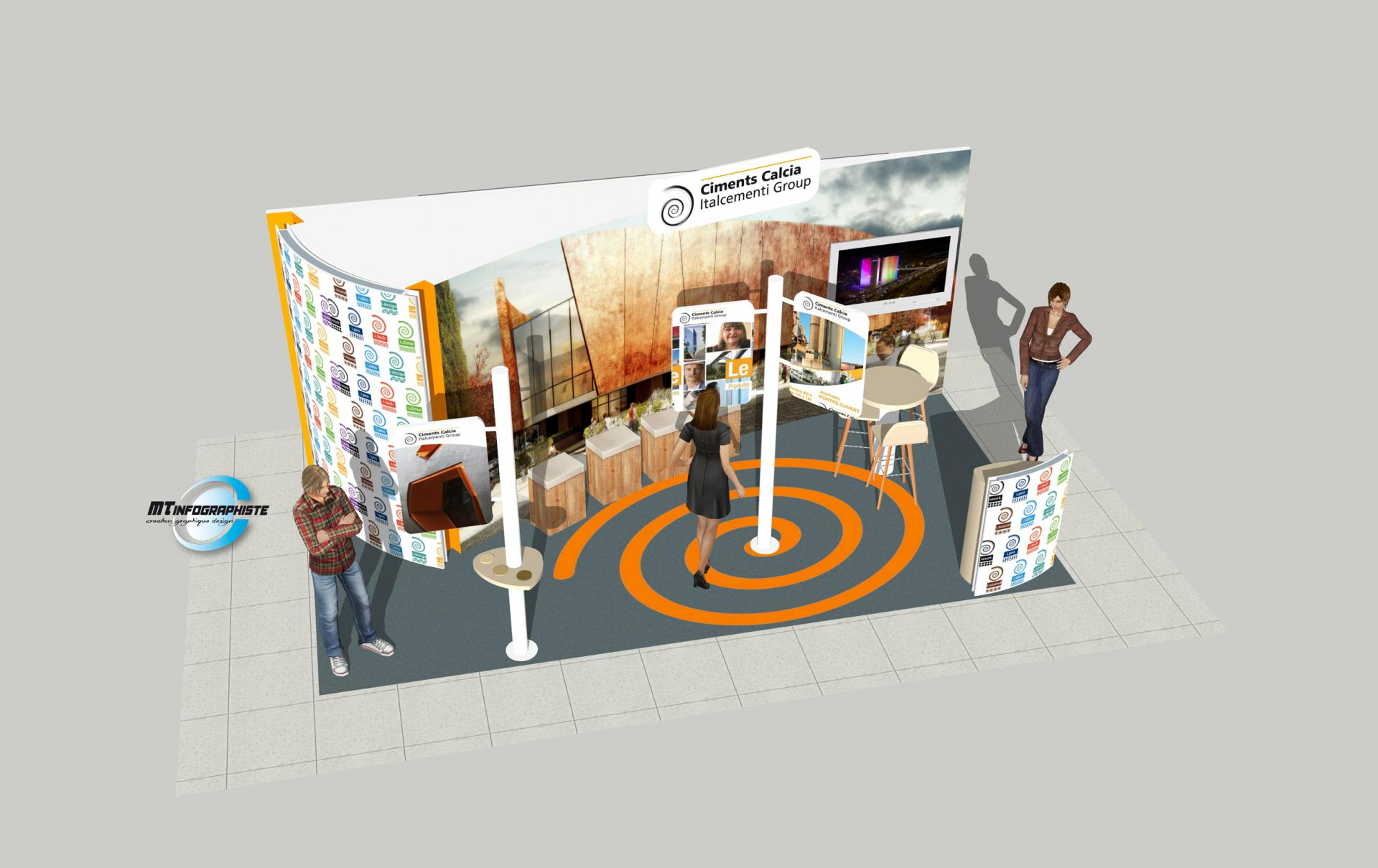 3D Stand Galcia