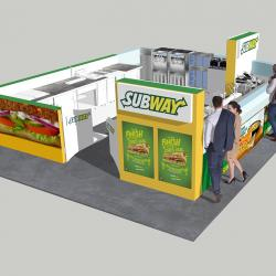 Stand 3D subway